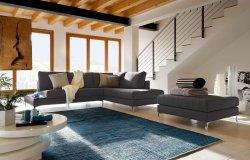 Lecomfort Avatar s otomanom, taburetom a odkladacím stolíkom
